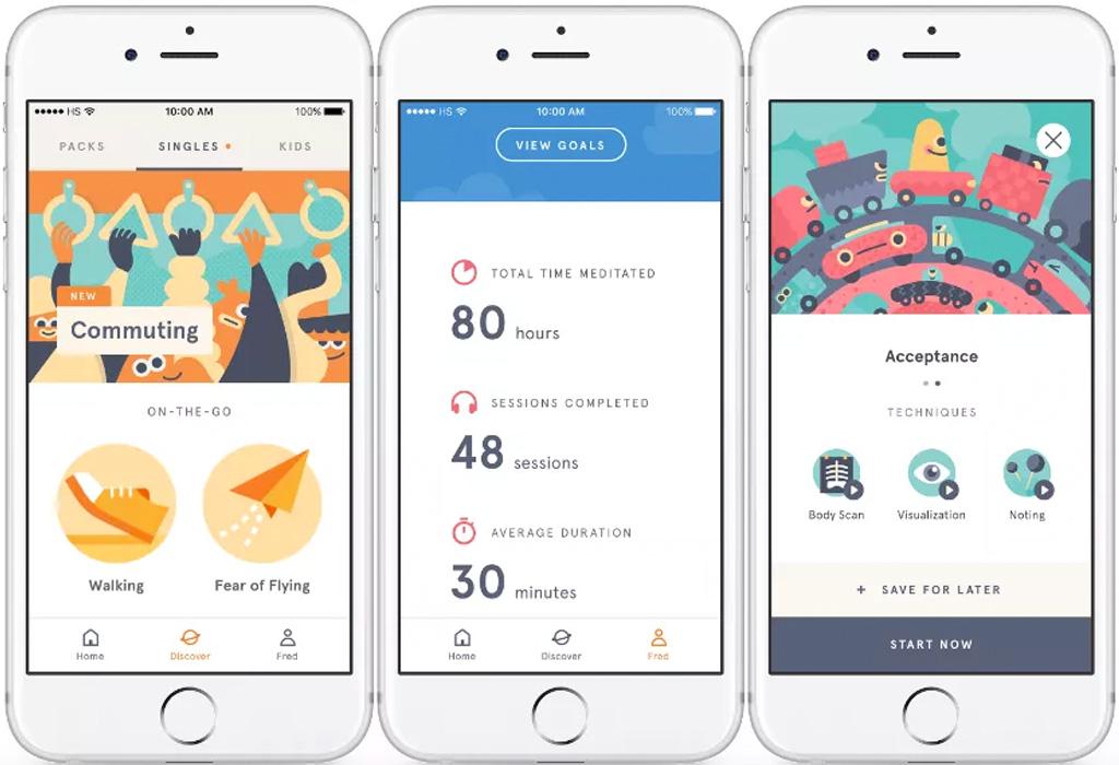 3 aplicaciones que te ayudarán a cumplir tus propósitos de Año Nuevo - headspace