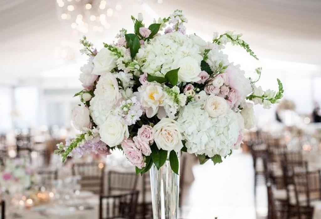 Tendencia en flores para bodas durante la primavera/verano - hydrangea