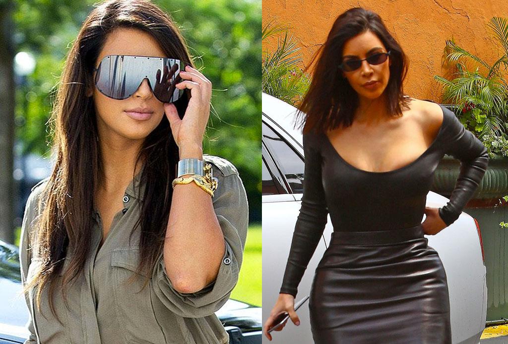 Kanye le manda consejos de moda a Kim ¡por correo electrónico! - kim-kardashian