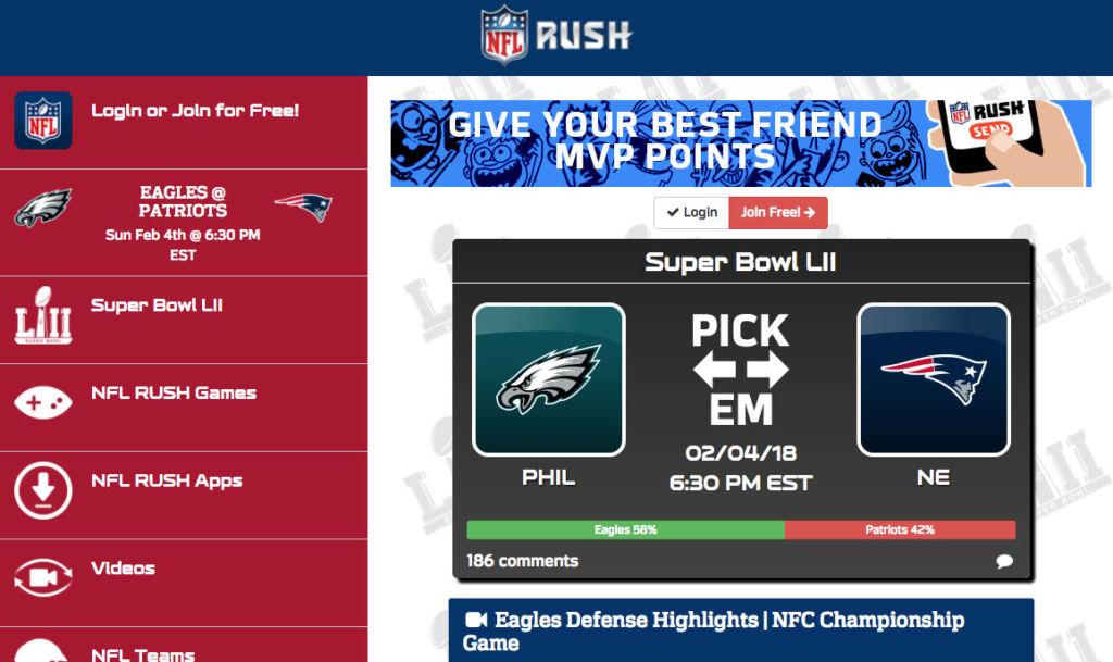 Apps para entender y enterarte de TODO sobre este Super Bowl - nfl_rush_app