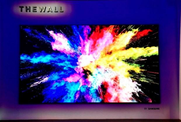 The Wall, una pantalla de Samsung que es del tamaño de una pared - samsung-1024x694