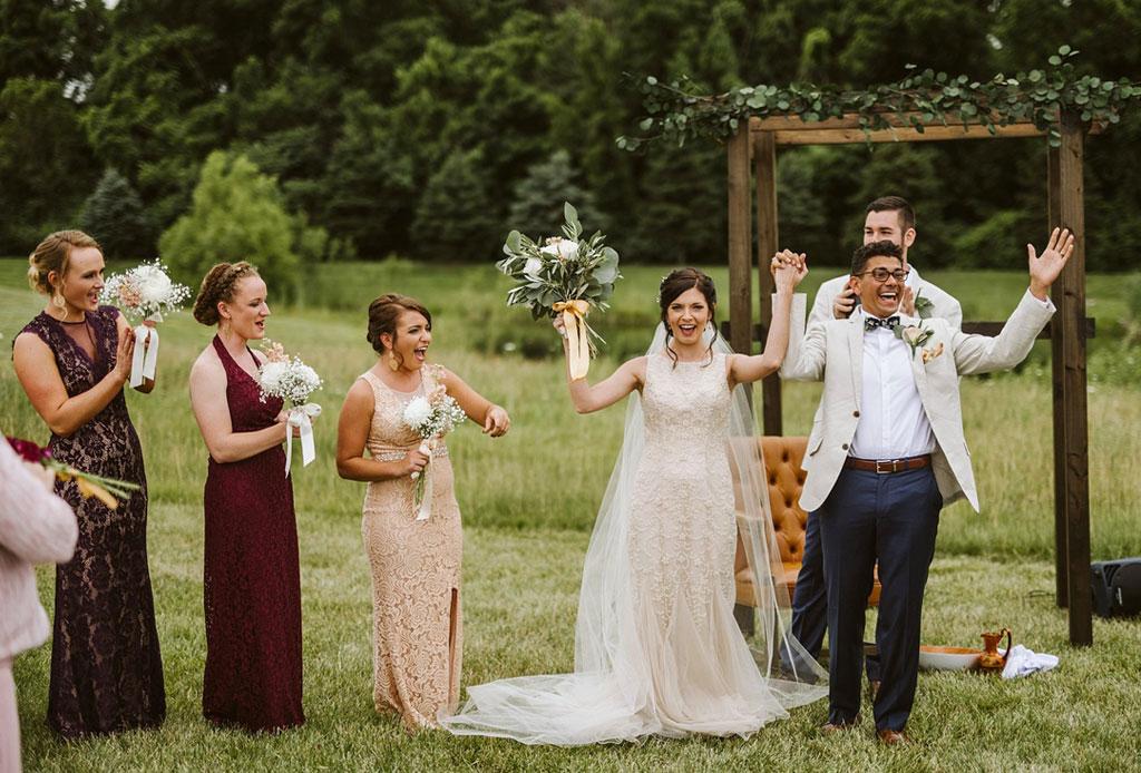 los zapatos perfectos para una boda de jardín