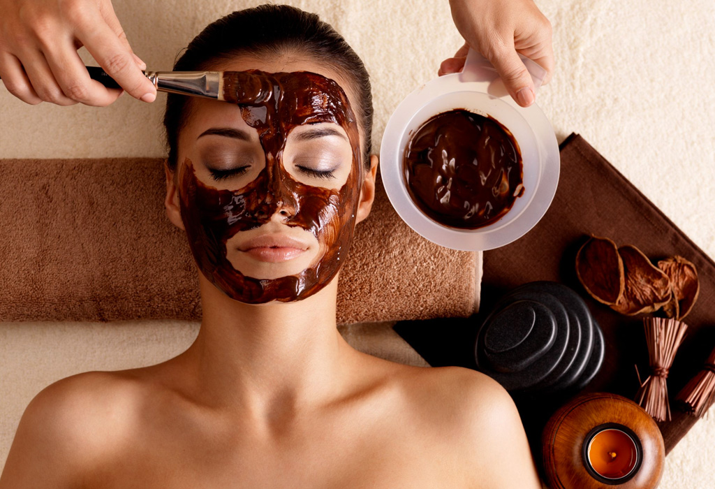 Beneficios de usar mascarillas de chocolate