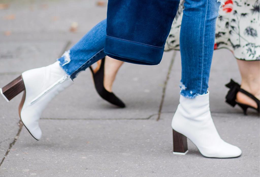 Yay or nay? Las botas blancas son la tendencia de esta primavera