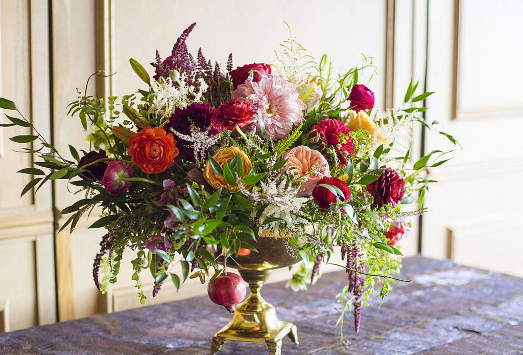 inspírate para crear arreglos florales diferentes y originales