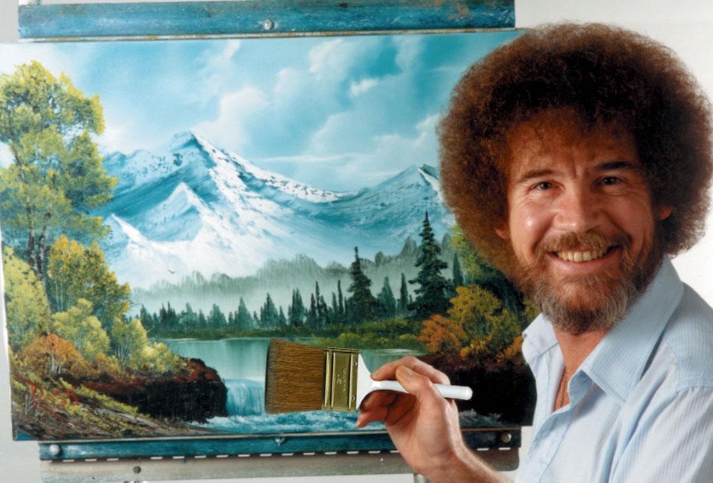 ¿Te acuerdas del pintor Bob Ross? Seguramente no sabías estos datos curiosos