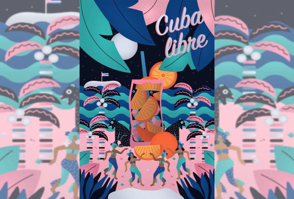 La etiqueta de Zacapa Ámbar fue reinterpretada por ilustradores mexicanos - plantillath