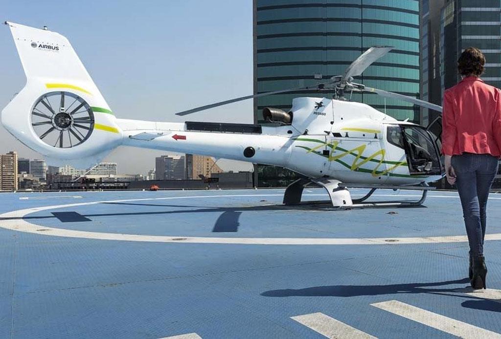 ¿Ya conoces Voom? Es la plataforma para pedir helicópteros en la CDMX