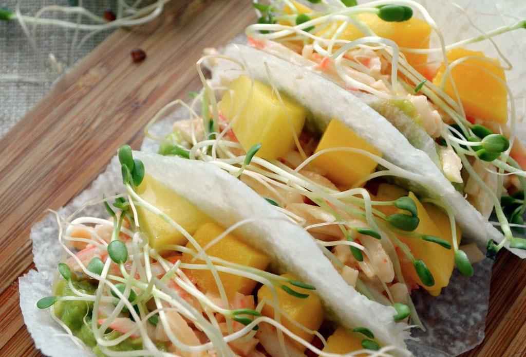 Tenemos la receta para preparar 3 tipos de tacos vegetarianos - tacos_vegetarianos_1