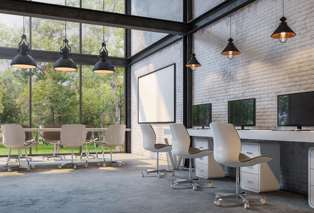 Biofilia: la tendencia de decorar tu lugar de trabajo con naturaleza para mejorar la productividad - biofilia-decoracion-oficina-4