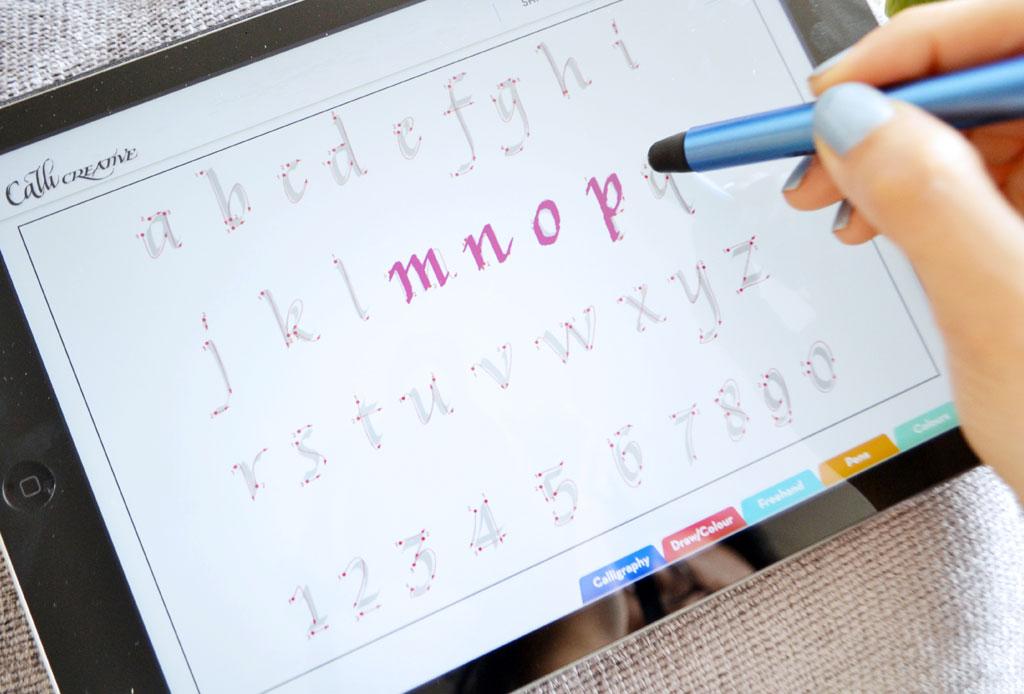 Aprende el arte de la caligrafía con estas apps - apps-caligrafia-2