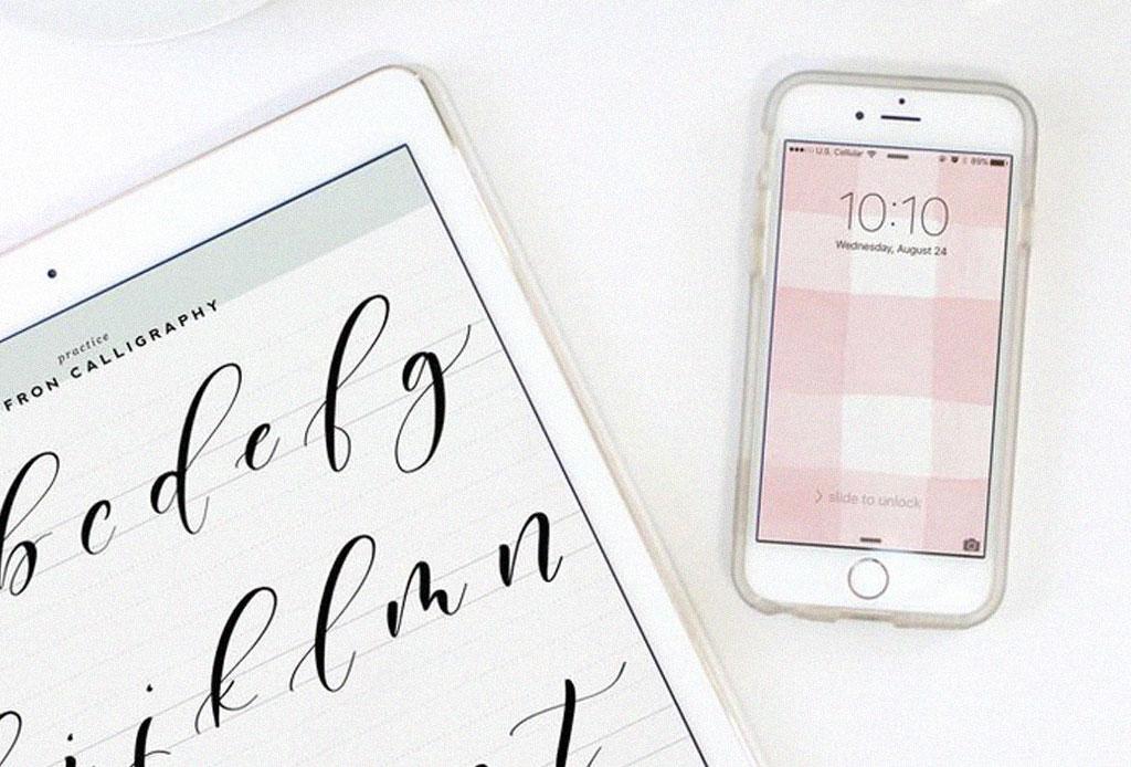 Aprende el arte de la caligrafía con estas apps - apps-caligrafia