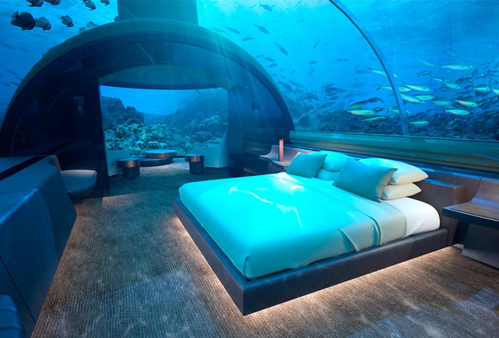 Conoce el primer resort que estará bajo el agua