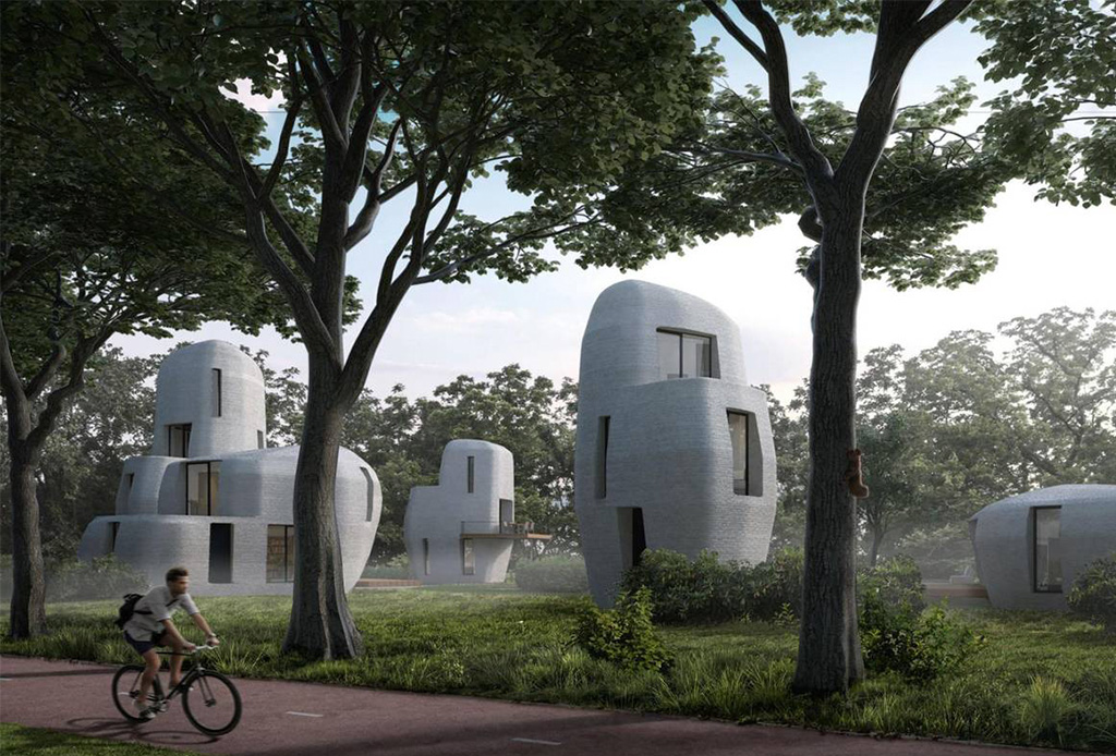 Casas impresas en 3D en las que podrás vivir