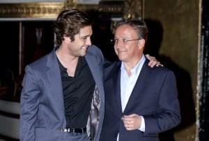Así fue la entrevista entre Diego Boneta y su papá