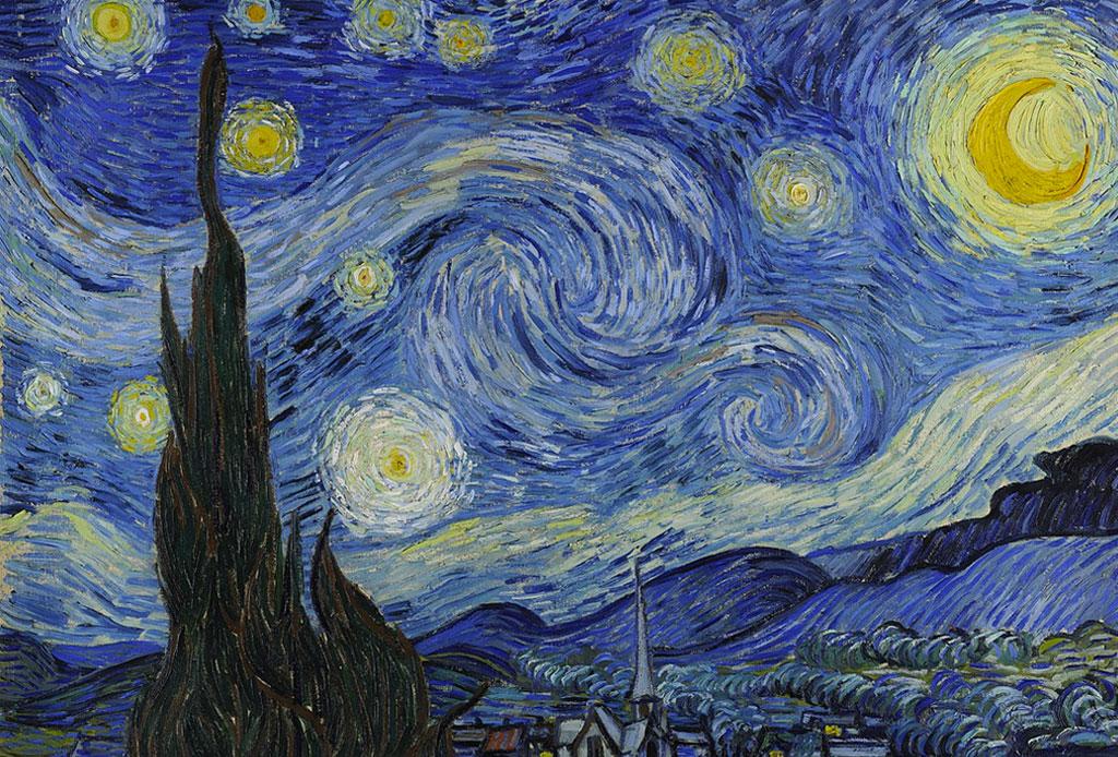 Ahora puedes dar un paseo dentro de «La Noche Estrellada» de Van Gogh