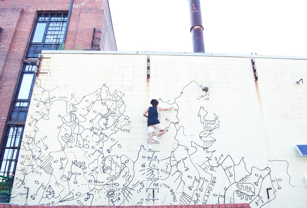 Colaboraciones muy cool que nos encantan de Shantell Martin - shantelmartin4