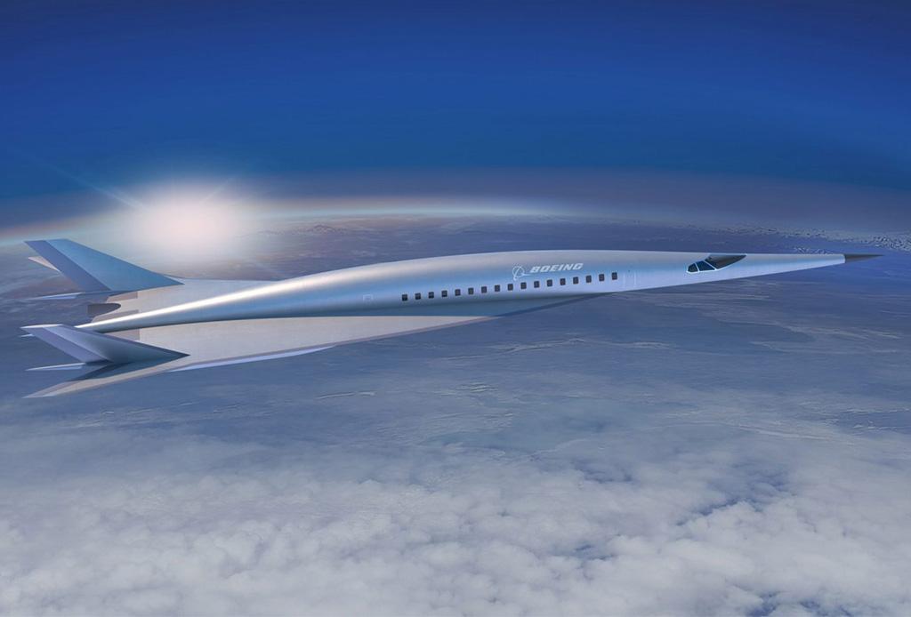En este avión podrás cruzar el mundo en menos de 4 horas