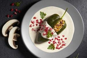 Estos son los mejores chiles en nogada veganos y vegetarianos de la CDMX