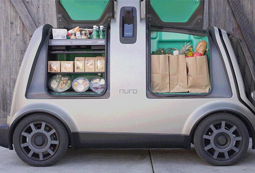 Muy pronto un coche autónomo podría llevar tus compras a casa - nuro3