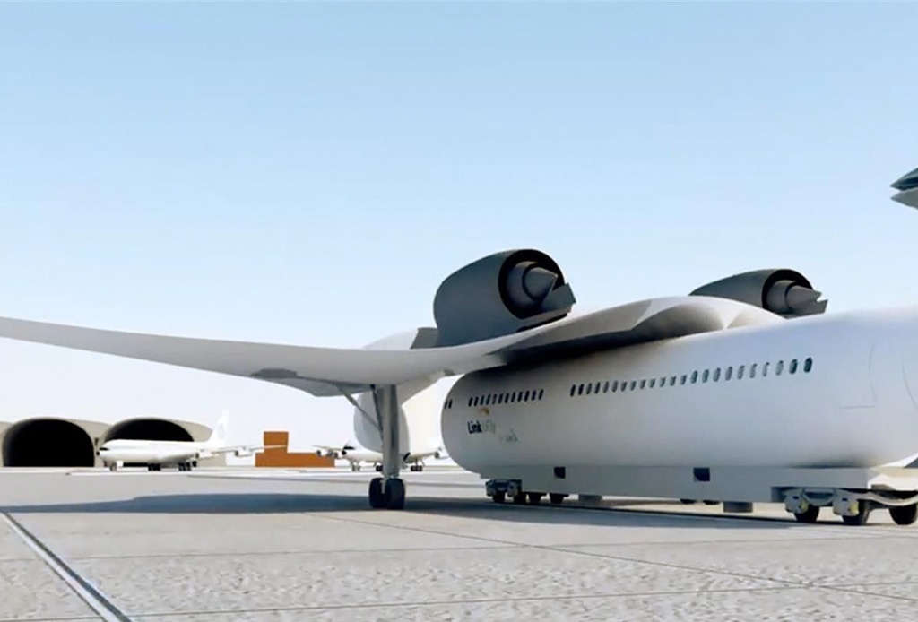 Este avión con alas removibles podría recogerte (casi) en la puerta de tu casa