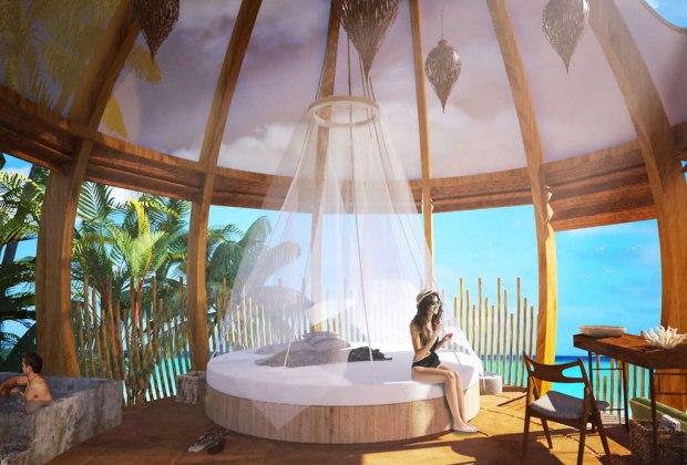 Conoce los capullos en los que vas a poder hospedarte en la Riviera Maya - awakening-hotel-capullo-riviera-maya-4
