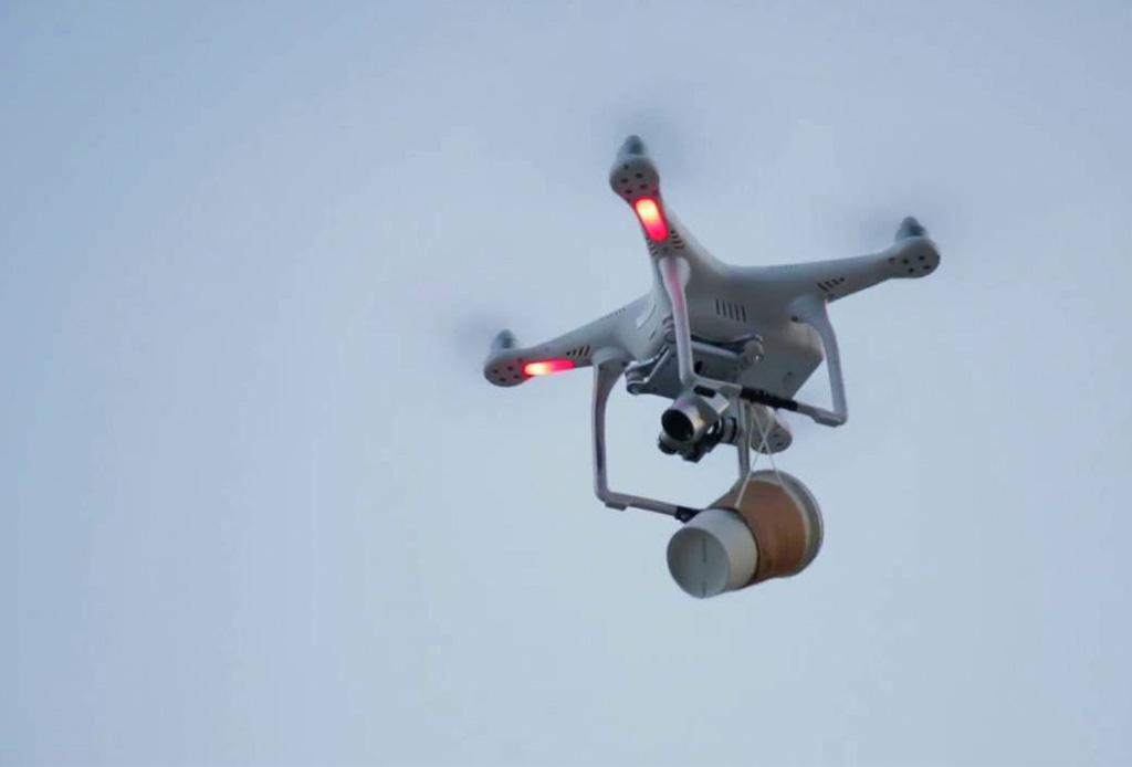 Este drone puede predecir cuando necesitas tomar un café - dronecafe2