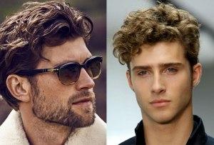 El pelo ondulado es el estilo que llevarán ellos en esta temporada