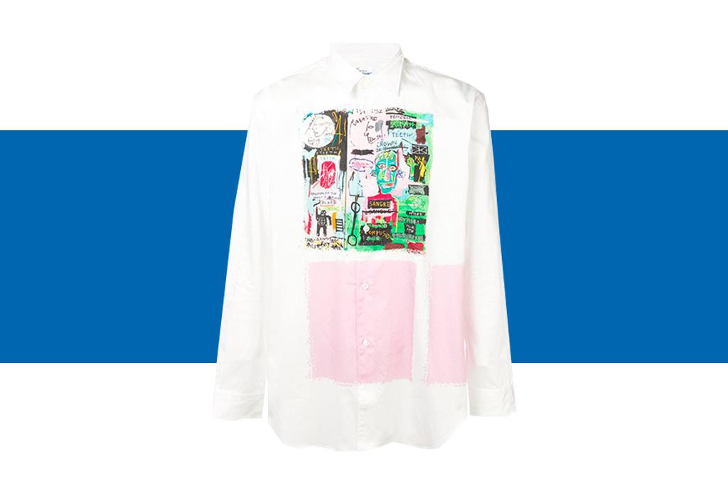 Comme des Garçons x Basquiat, ¡una colección de t-shirts que amarás! - basquiat-colaboracion-comme-des-garcons-7-1