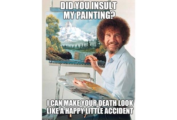 Nuestros memes favoritos de Bob Ross - bob-ross-2