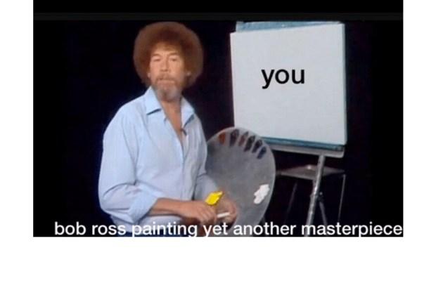 Nuestros memes favoritos de Bob Ross - bob-ross-7