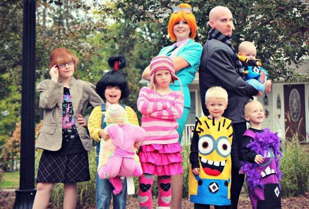 10 ideas de disfraces familiares para las fiestas de Halloween - disfraces2