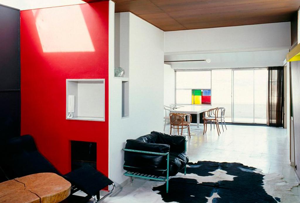 El departamento-estudio de Le Corbusier está re-abierto al público - le-corbusier-apartamento-1