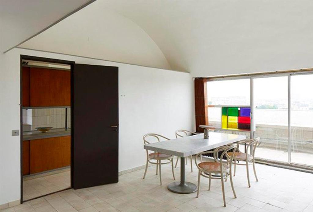 El departamento-estudio de Le Corbusier está re-abierto al público