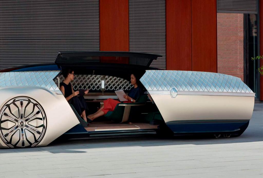 """Renault """"EZ-Ultimo"""", el coche-robot que parece sacado de una película - renault1"""