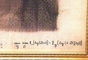 Así es como luce la primer obra de arte hecha con inteligencia artificial que ha sido subastada