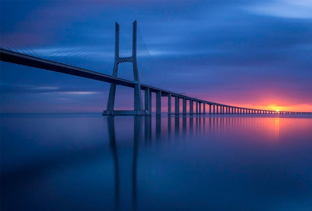 Bucket list goal: los puentes más largos del mundo para autos