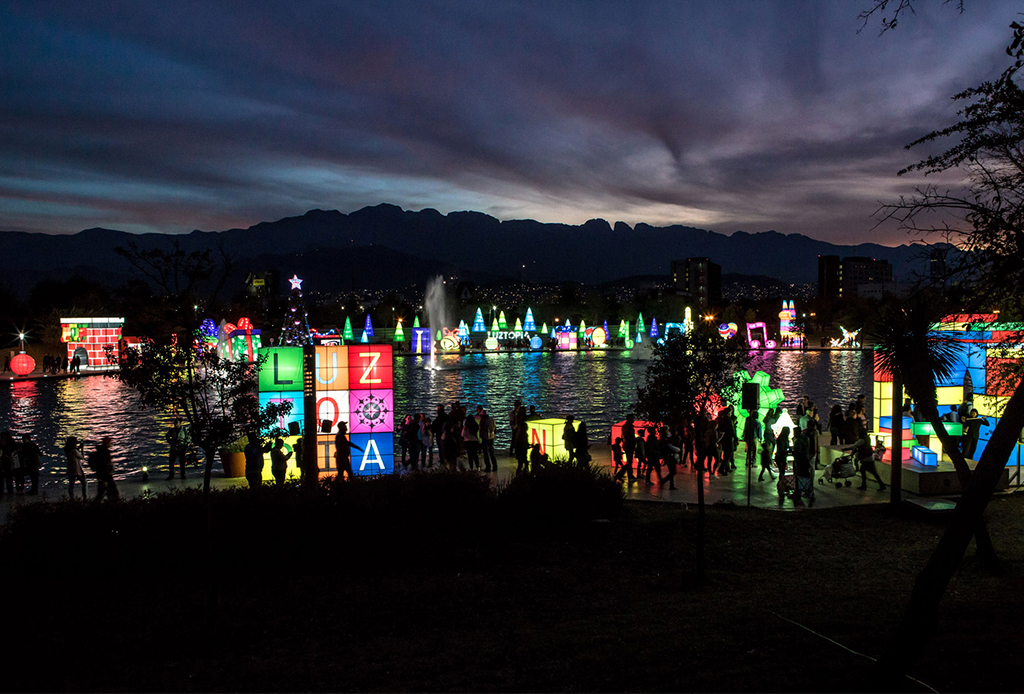 Luztopía 2018, el festival de luces navideñas que no te puedes perder en Monterrey - luztopia-4