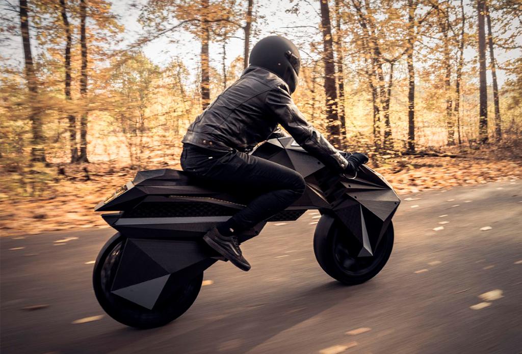 ¡Te va a impresionar la primera moto eléctrica impresa en 3D! - moto-electrica-1