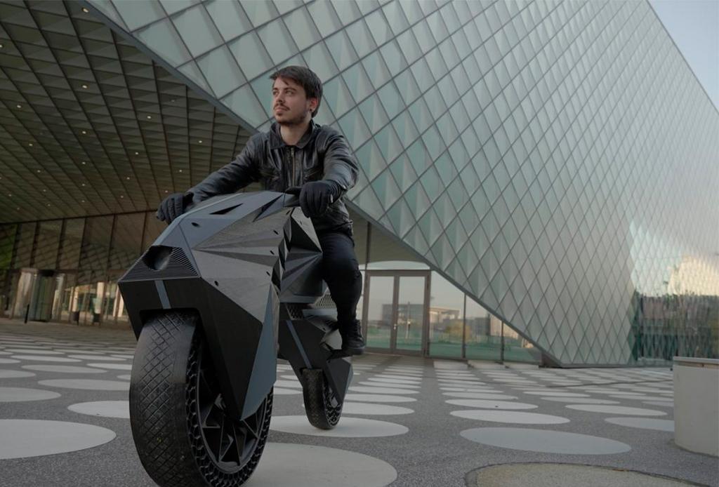 ¡Te va a impresionar la primera moto eléctrica impresa en 3D! - moto-electrica-2