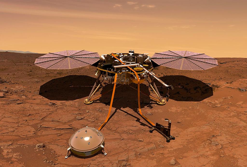 Así es como se escucha el viento en Marte