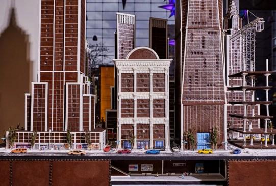 Hay una réplica de la ciudad de Nueva York ¡hecha con gingerbread! - nueva-york-ciudad-hecha-de-pan-de-jengibre-1-300x203