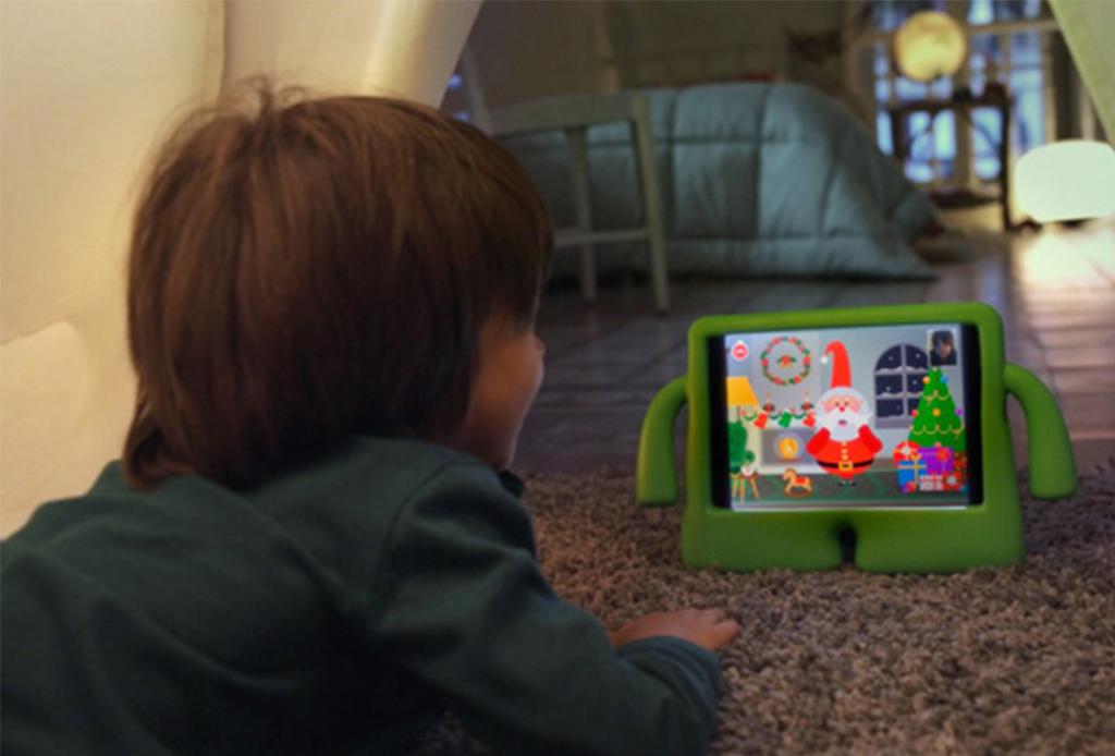 ¿Tus hijos o sobrinos quieren hablar con Santa Claus? ¡Tienes que descargar esta app!