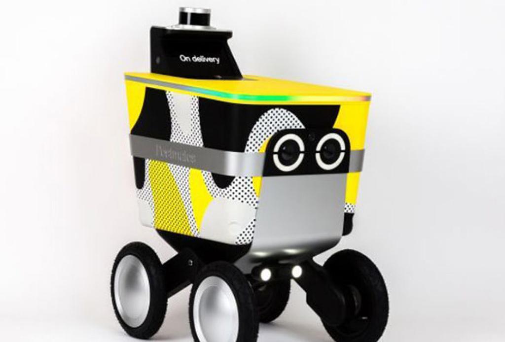 Conoce el robot que pronto podría llevarte la comida a casa