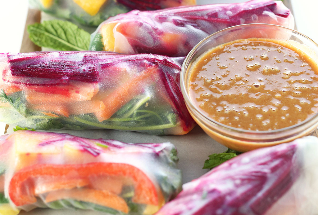 Disfruta de los rollos primavera healthy ¡en menos de 30 minutos! - rollos-primavera-saludables-2