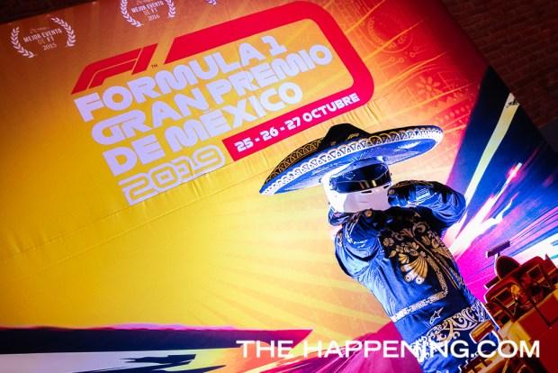 Johnnie Walker inauguró oficialmente las celebraciones de la F1 Gran Premio de México 2019 - aspecto_61