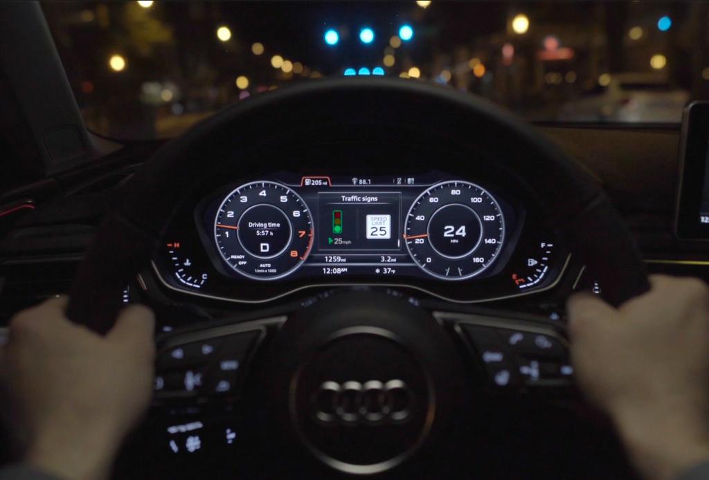 Ahora podrás evitar los semáforos en rojo con la tecnología de Audi