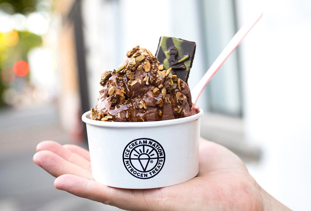 ¿Estás haciendo la dieta keto? ¡Entonces DEBES ir a esta heladería!