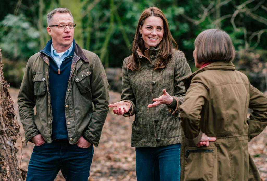 Los detalles sobre el jardín que Kate Middleton está diseñando