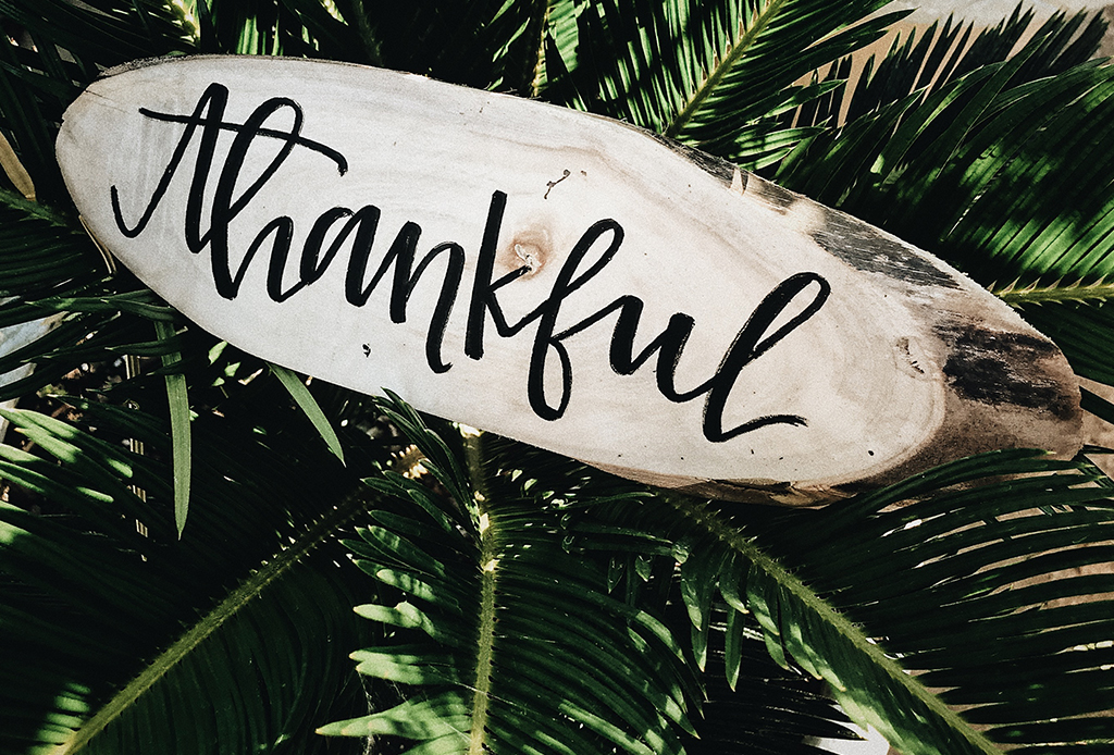 Hicimos una 'Thankful playlist' para recordarnos que todo va a estar bien